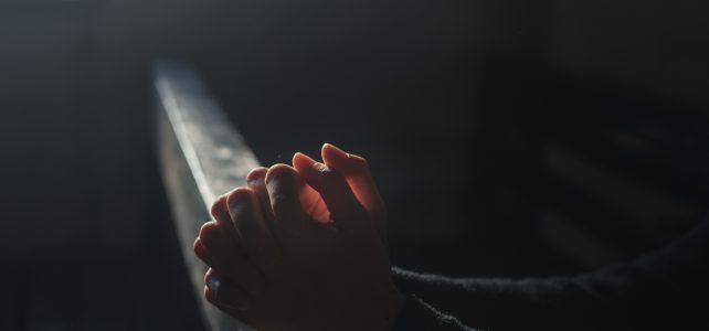 prayer, hands, church