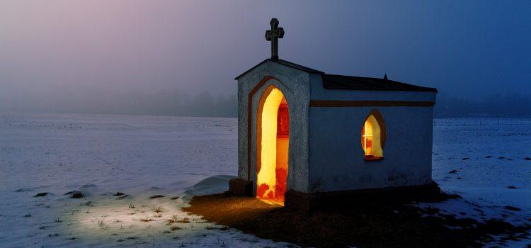 light, chapel, church