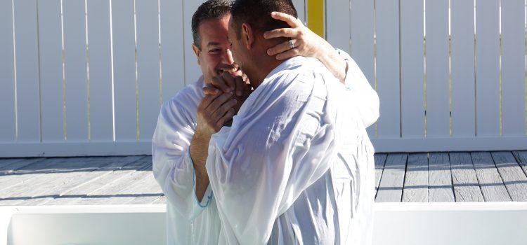 man, baptism, faith