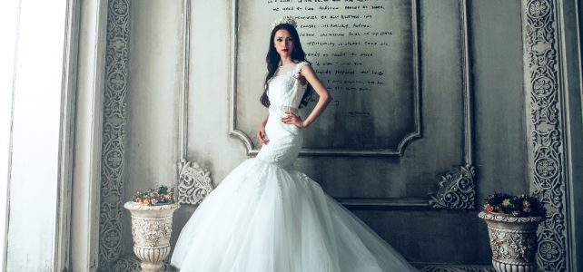 wedding dress, bride, extravagant