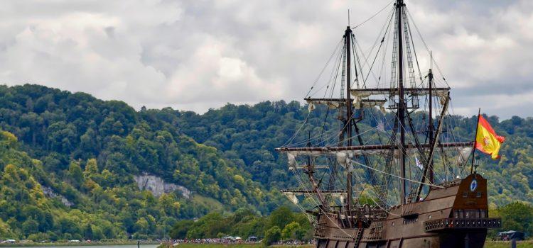 boat, ship, mast