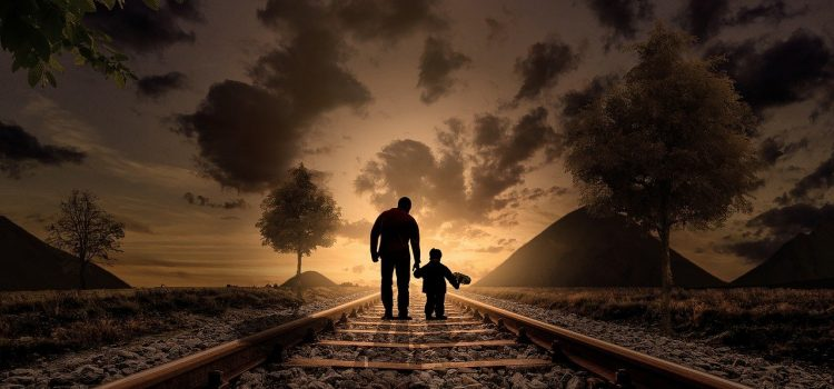Father And Son Walking Love Child  - 4144132 / Pixabay